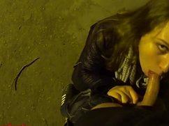 В ночное время суток дал соснуть на улице незнакомке