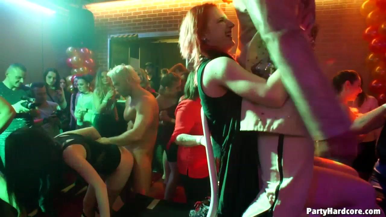 Ебля в ночном клубе