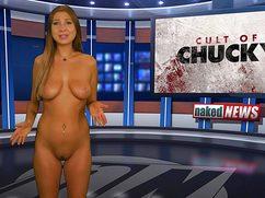 Без особых комплексов голые ведут новости