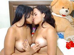 Секс толстых баб с крупными свисающими титями