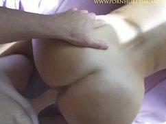 Сладострастная телка приласкала пилоткой хуй самца