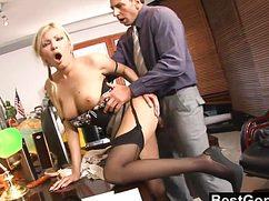 Бурная ебля с секретаршей прошла на славу и понравилась шефу