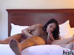 Супруг с удовольствием вошел в голую женку